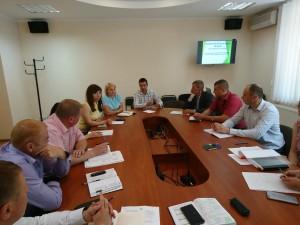 Робоча зустріч щодо фітосанітарної безпеки області